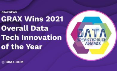 GRAX Data Value Platform Wins Overall Data Tech Innovation of the Year